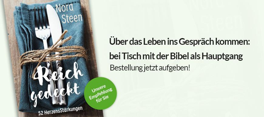 Andachtsbuch 'Reich gedeckt'
