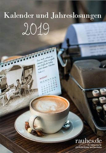 RuV Katalog Kalender und Jahreslosung 2019